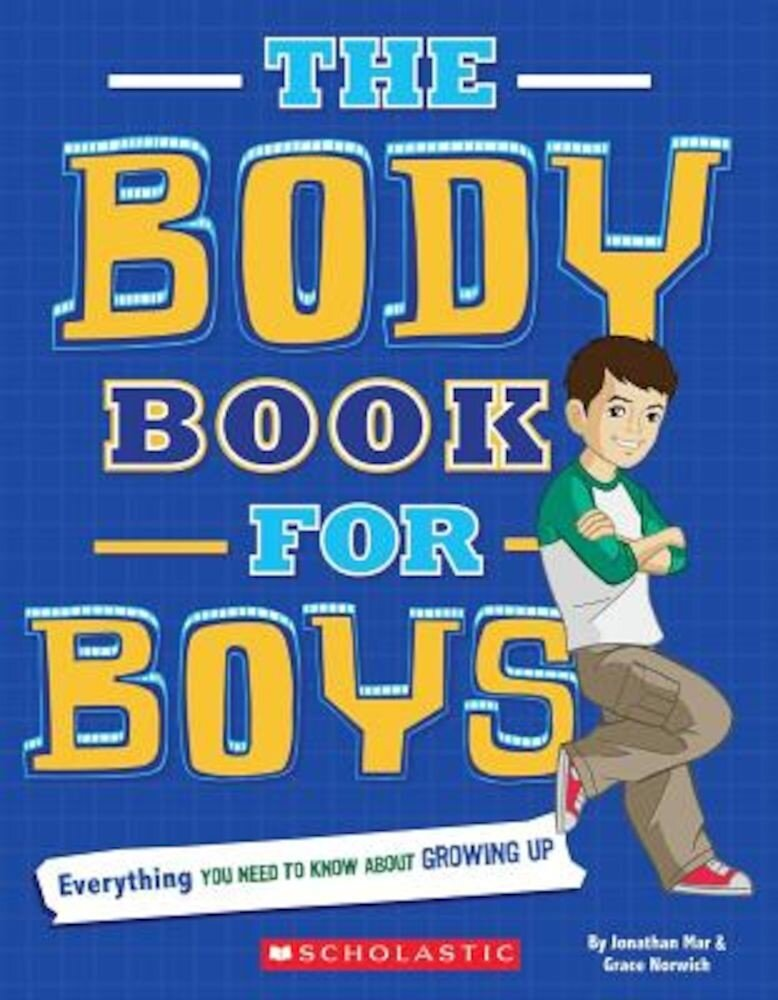 The Body Book for Boys, Paperback