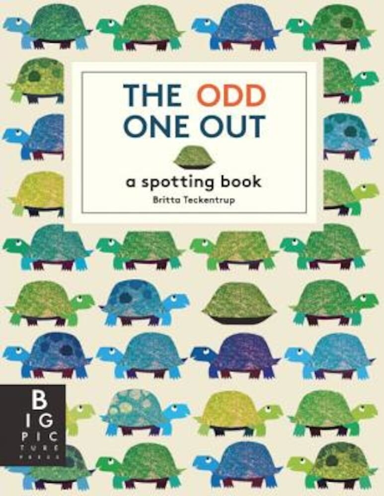 The Odd One Out: A Spotting Book, Hardcover