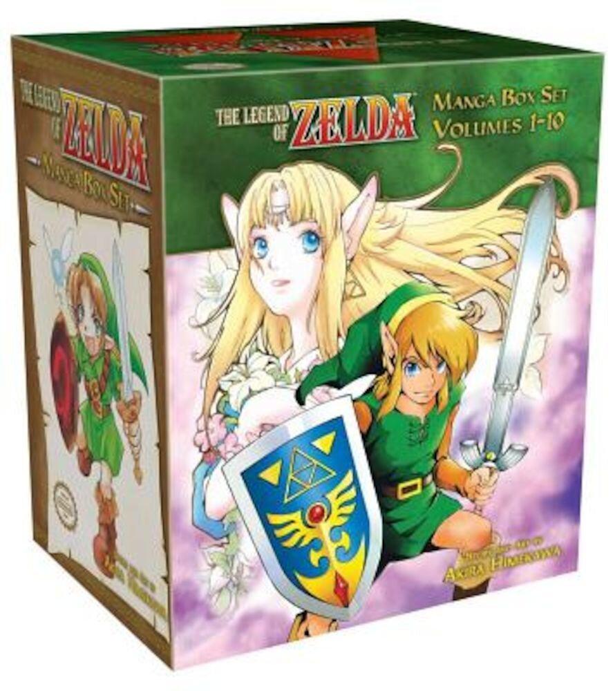 The Legend of Zelda Box Set, Paperback