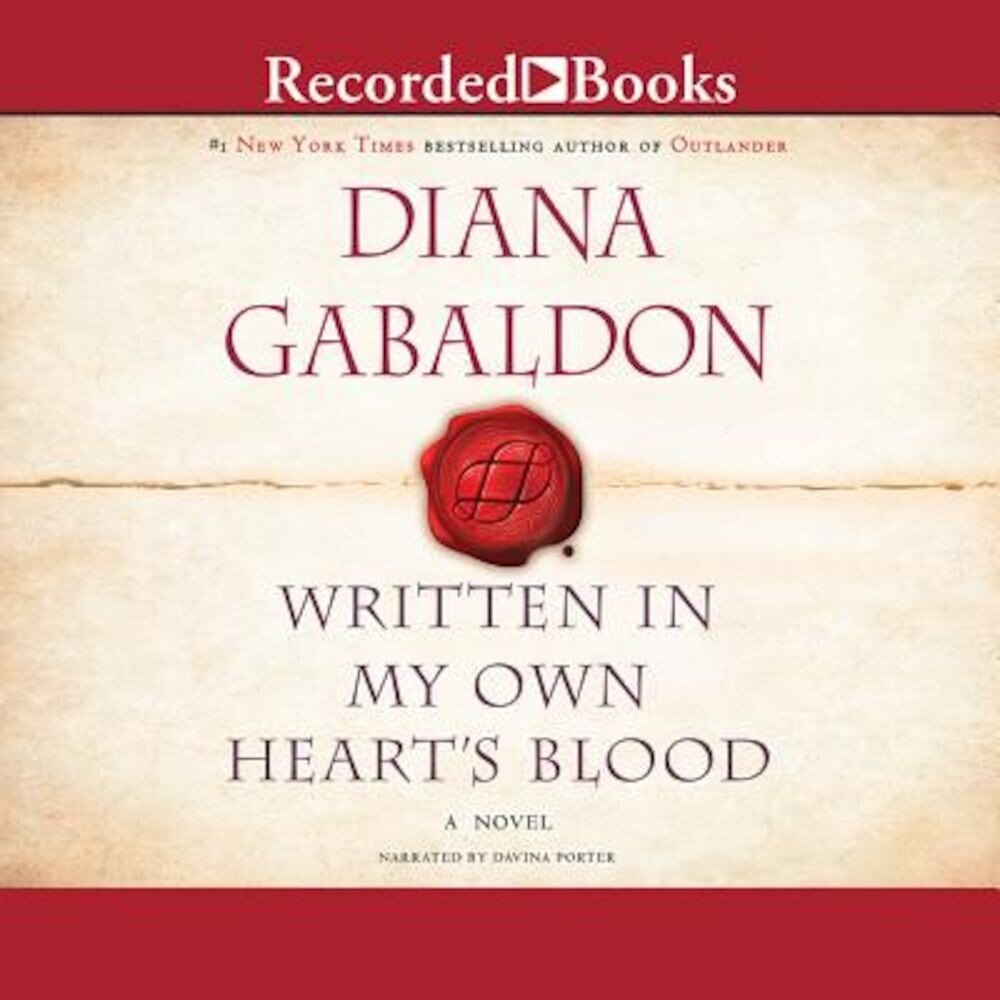 Coperta Carte Written in My Own Heart's Blood, Audiobook