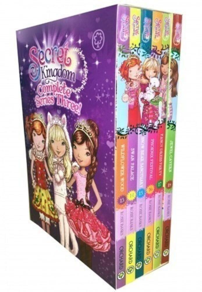 Secret Kingdom Series 3 Collection Rosie Banks 6 Books Box Set