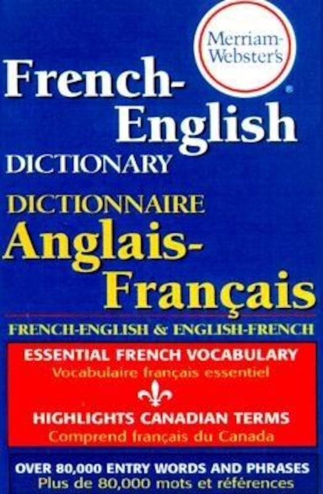 Merriam-Webster's French-English Dictionary, Paperback
