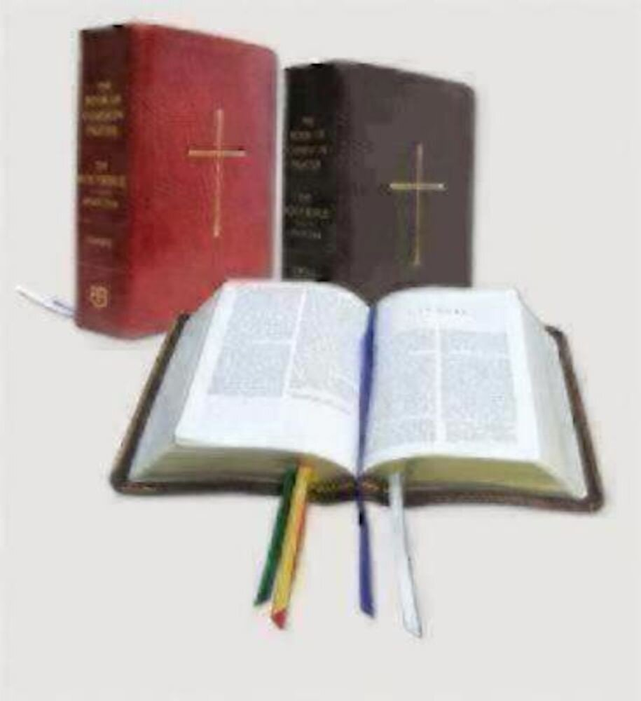 The Book of Common Prayer and the Holy Bible New Revised Standard Version: Black Bonded Leather, Hardcover