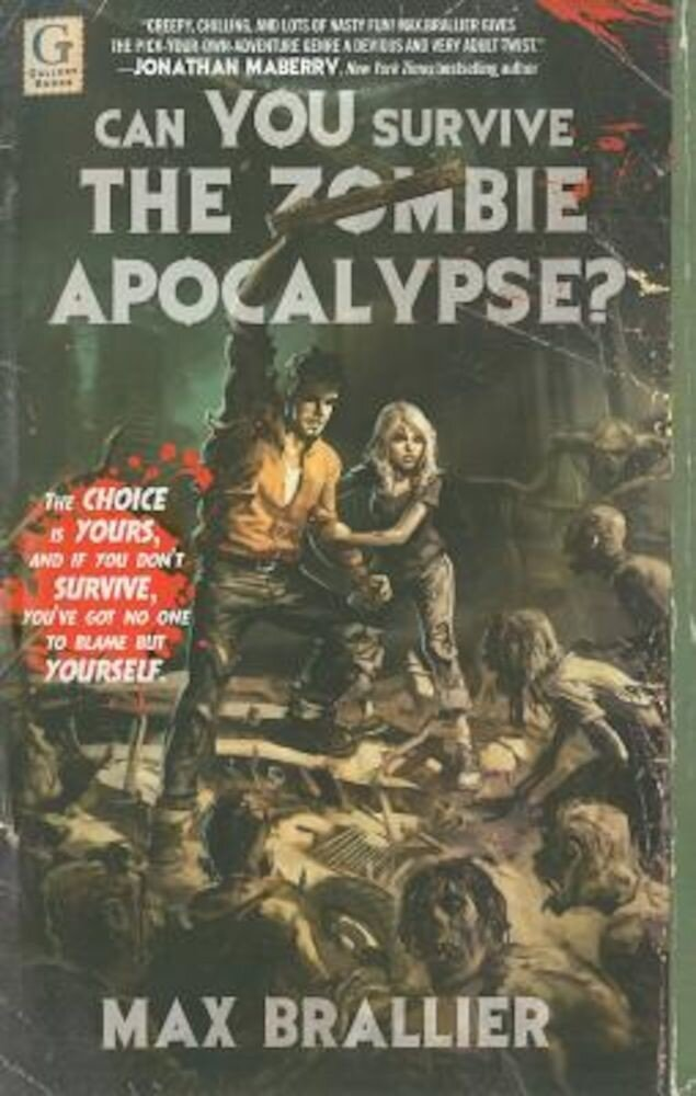Can You Survive the Zombie Apocalypse?, Paperback