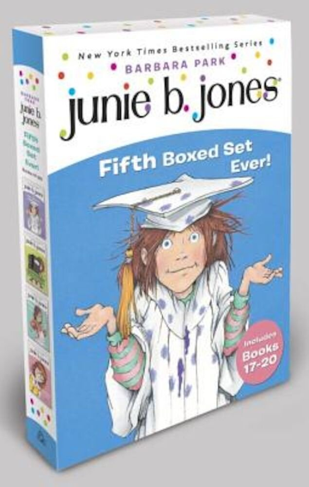 Junie B. Jones Fifth Boxed Set Ever! [With Collectible Stickers], Paperback