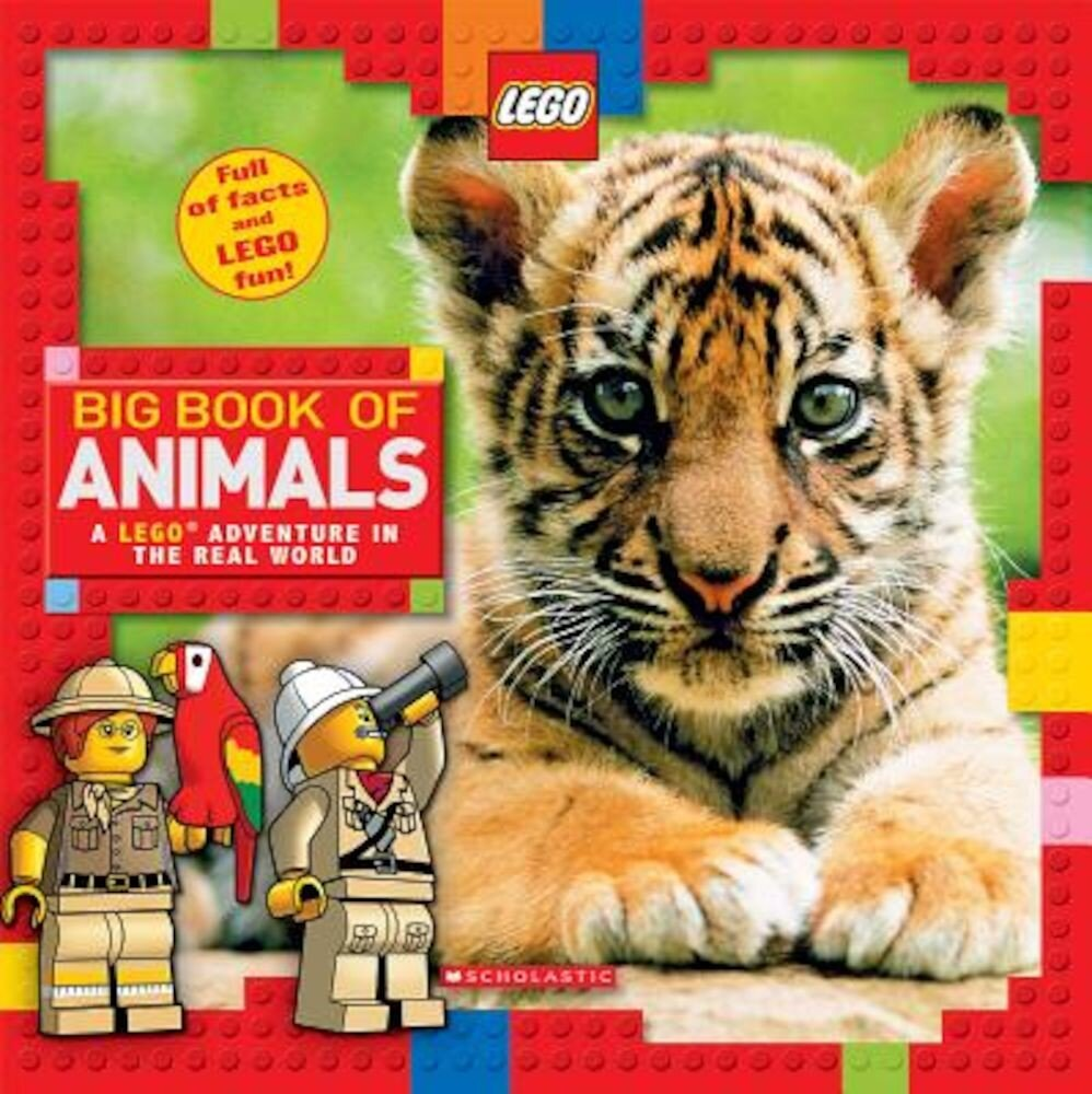 Big Book of Animals (Lego Nonfiction), Hardcover