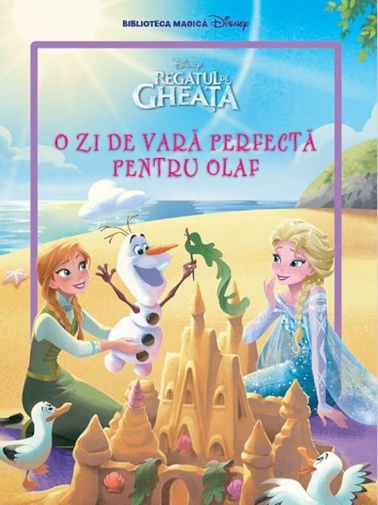 Regatul de gheata. O zi de vara perfecta pentru Olaf. Carte gigant (grupa mijlocie)