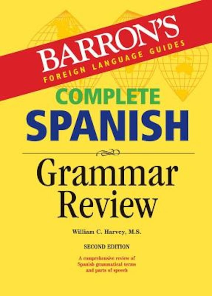 Complete Spanish Grammar Review, Paperback