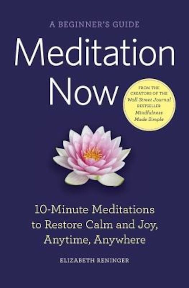 Meditation Now: A Beginner's Guide, Paperback