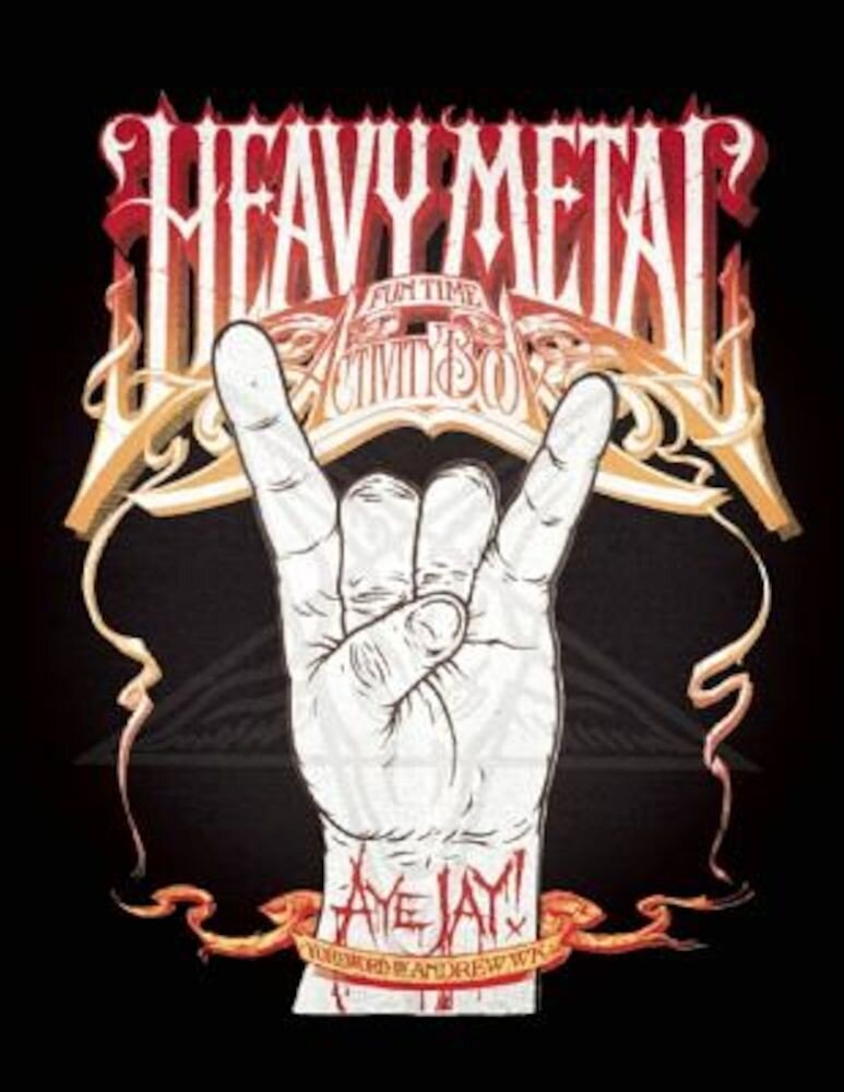 Heavy Metal Fun Time Activity Book, Paperback