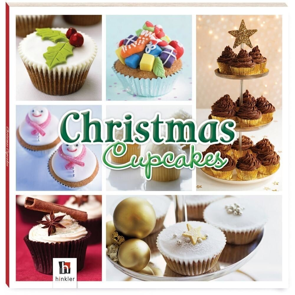 Christmas Cupcakes Square Gift Box (Square Gift Boxes)