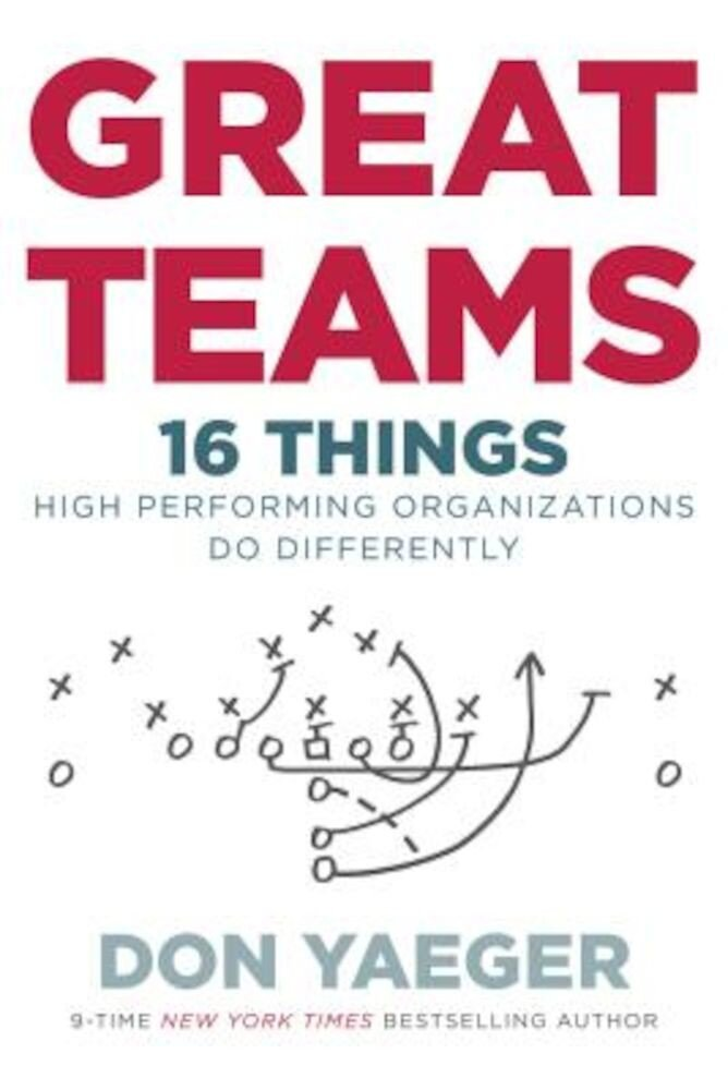 Great Teams: 16 Things High Performing Organizations Do Differently, Hardcover