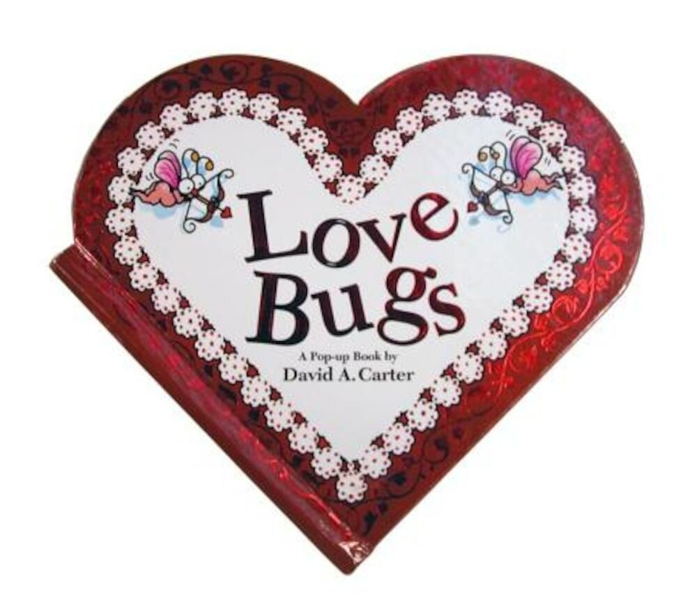 Love Bugs: A Pop Up Book, Hardcover