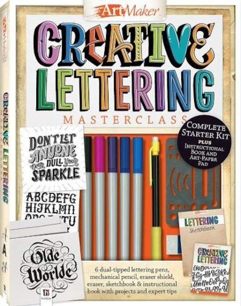 Art Maker Creative Lettering Masterclass Kit (portrait)
