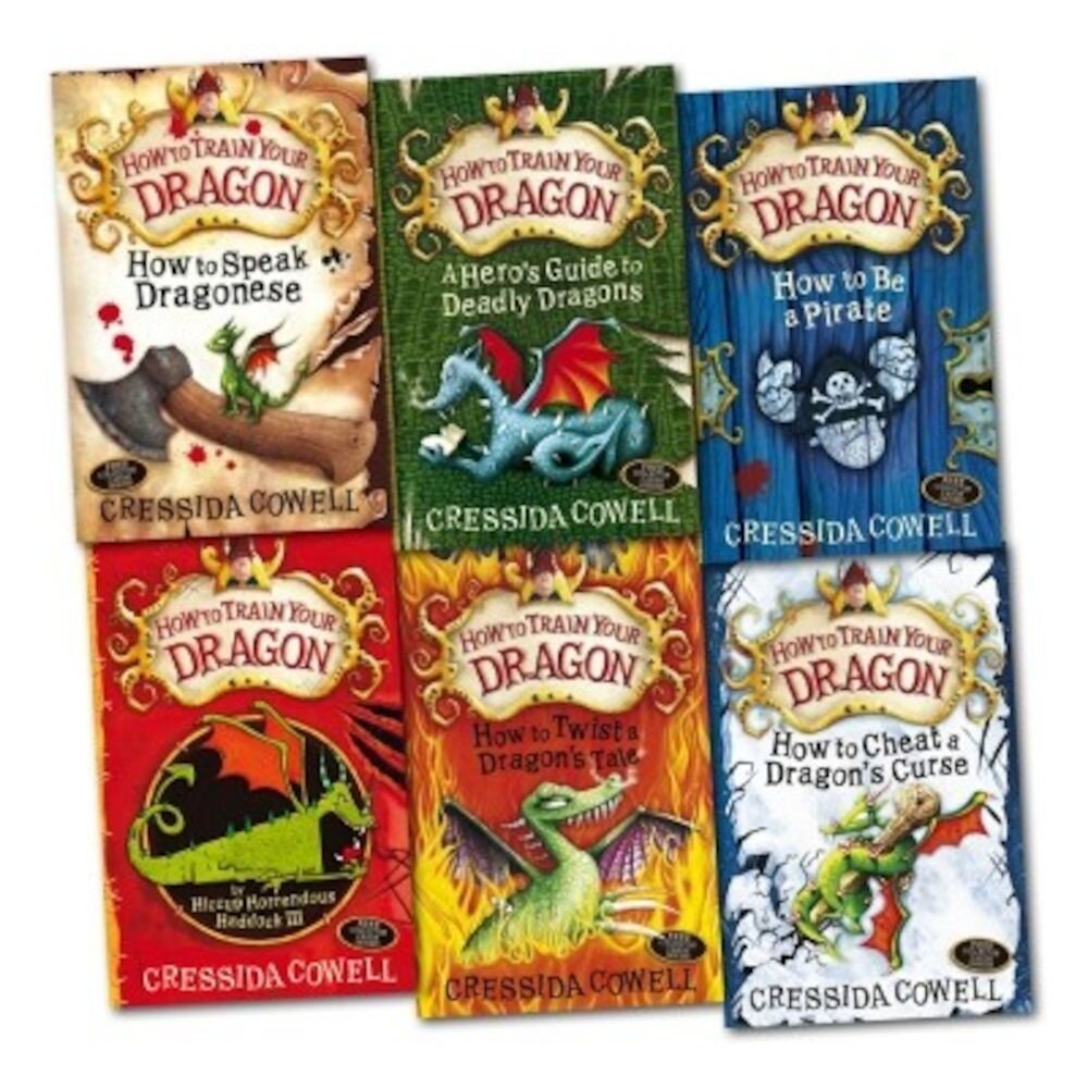How To Train Your Dragon 6 Books Collection