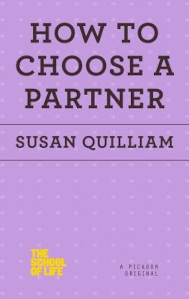 How to Choose a Partner, Paperback
