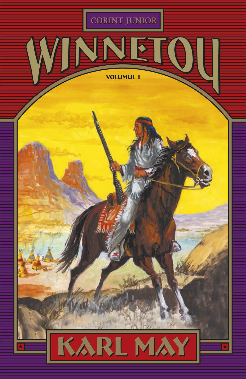 Coperta Carte Winnetou. Volumul 1