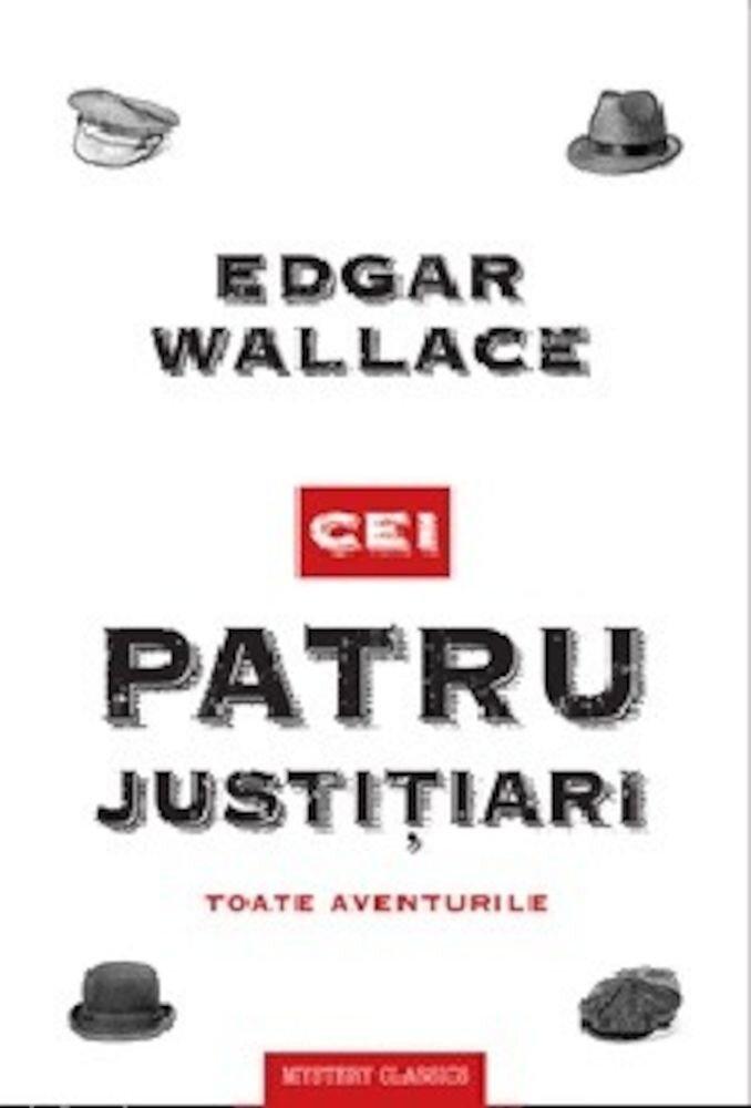Coperta Carte Cei patru justitiari. Toate aventurile