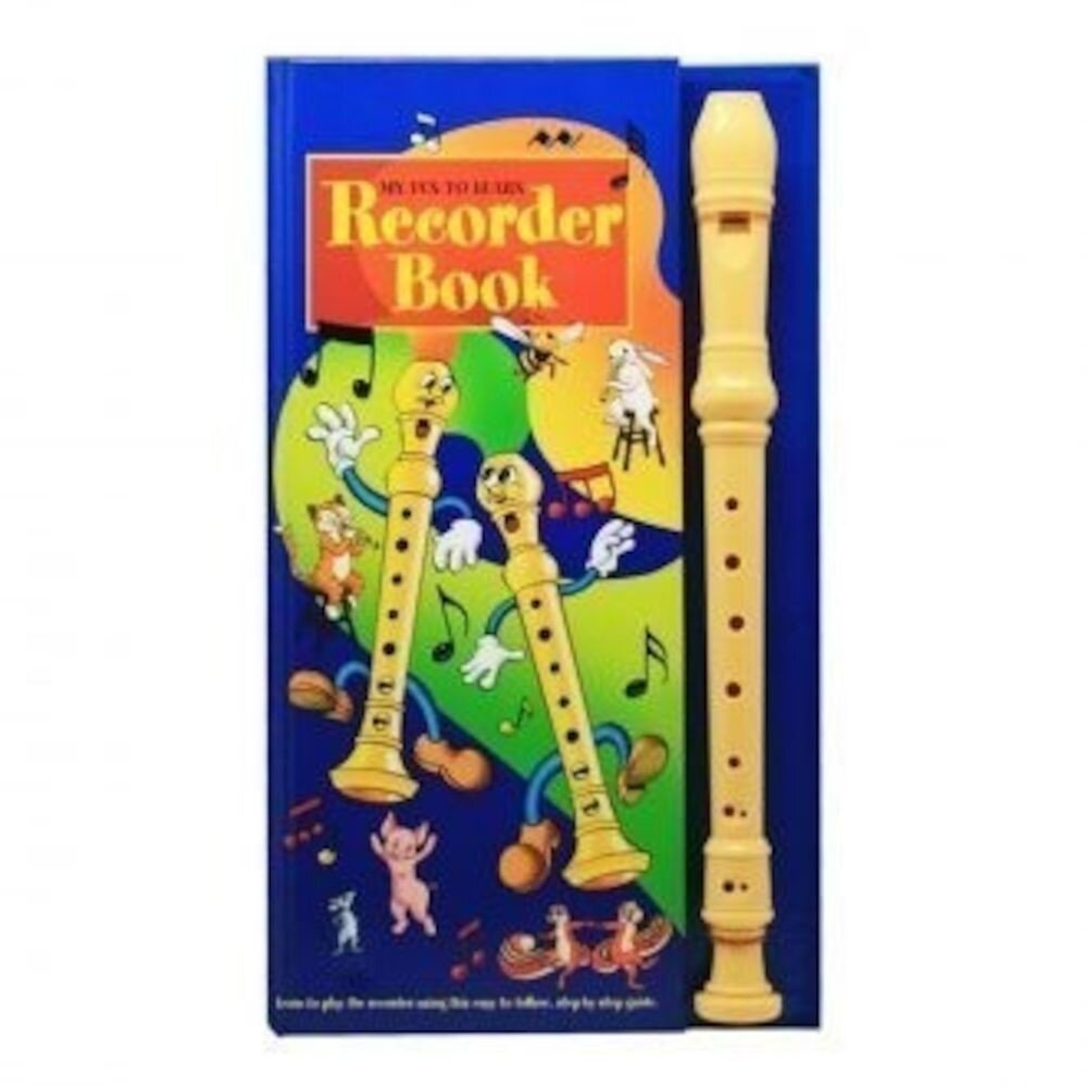 Recorder Book - Blue Cover