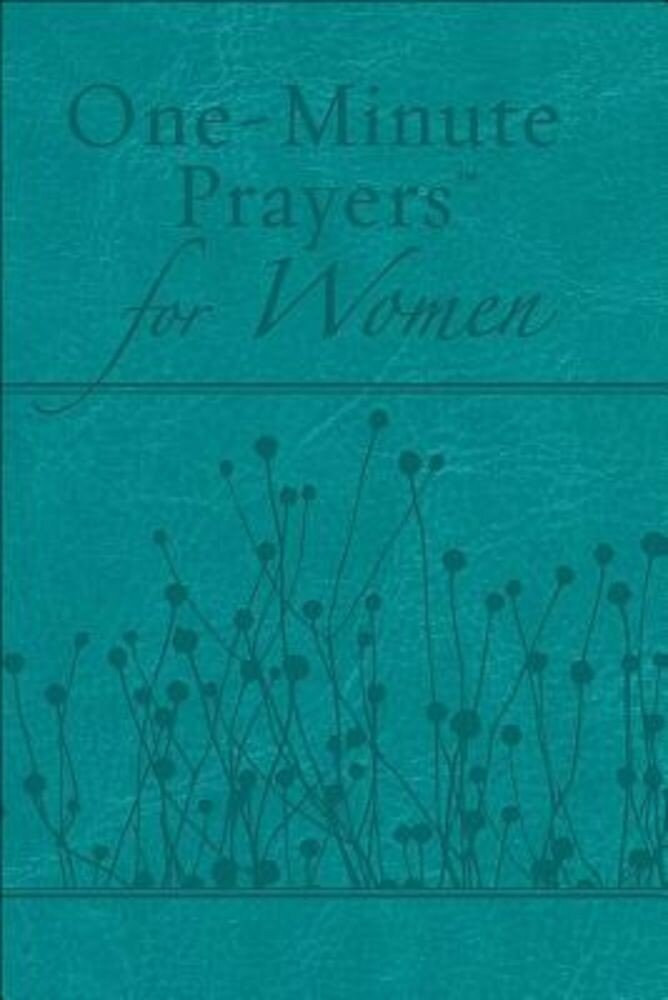 One-Minute Prayers(r) for Women Milano Softone(tm) Teal, Hardcover