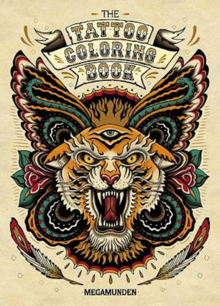 The Tattoo Coloring Book [With 2 Pull-Out Posters], Paperback