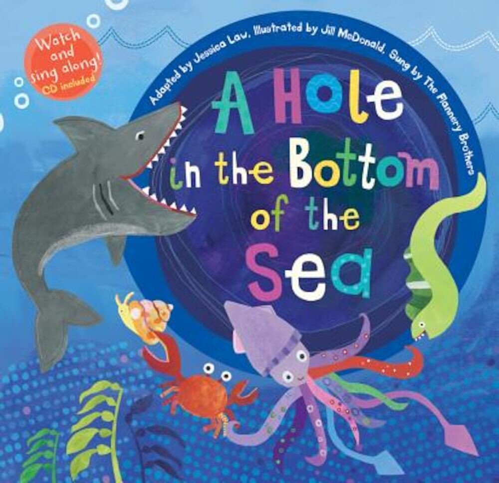 A Hole in the Bottom of the Sea [With Audio CD], Paperback