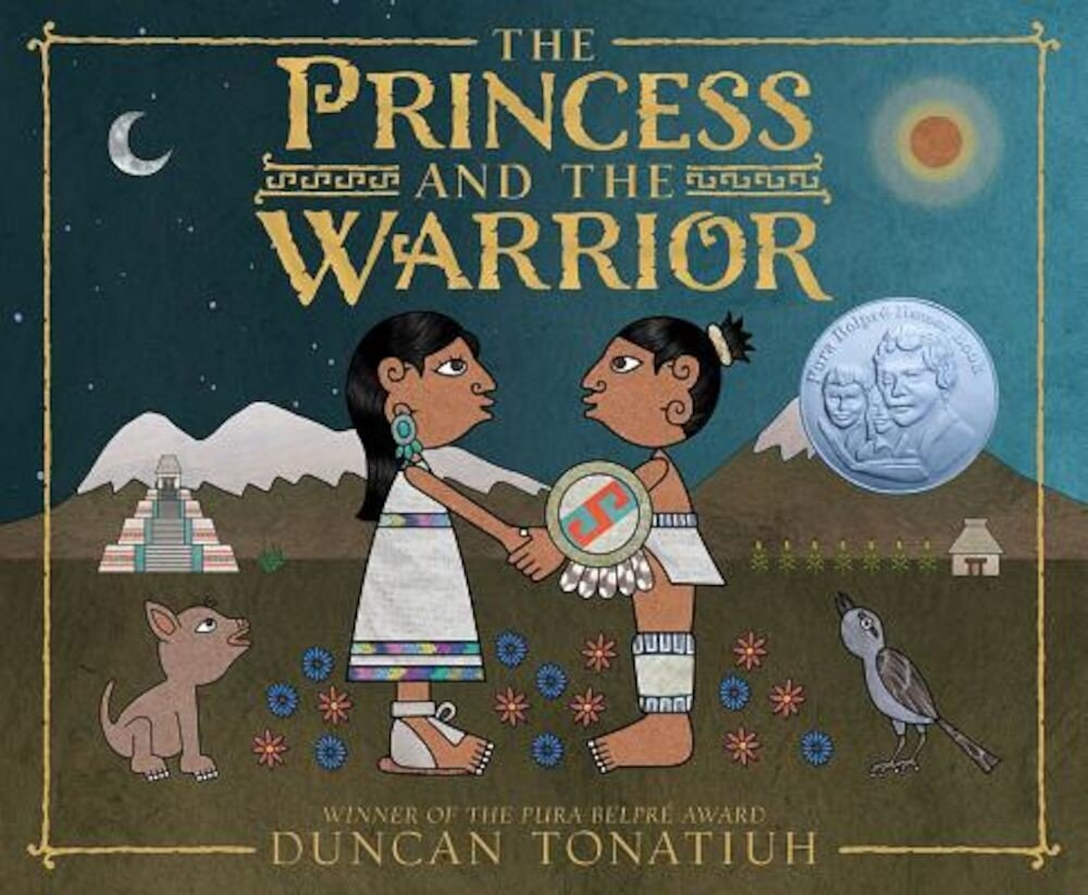 The Princess and the Warrior: A Tale of Two Volcanoes, Hardcover