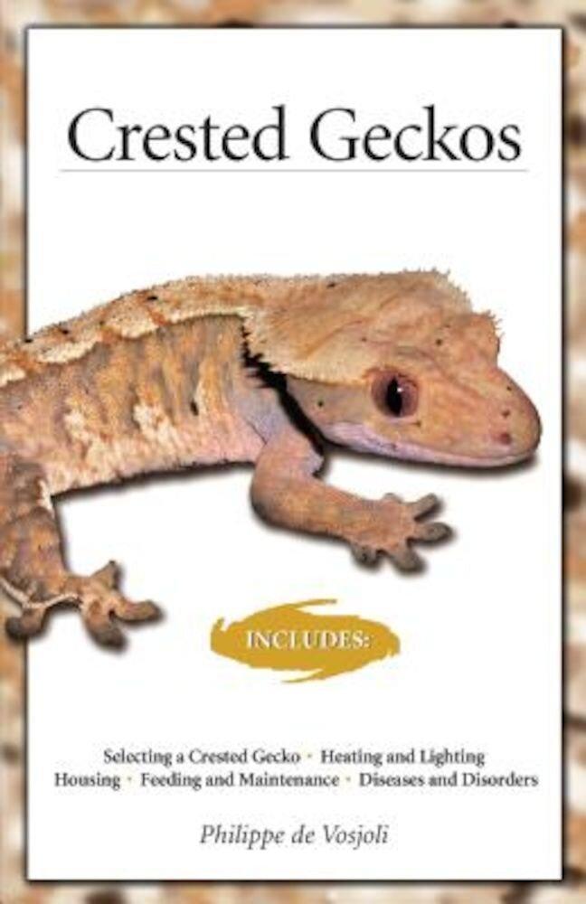 Crested Geckos, Paperback