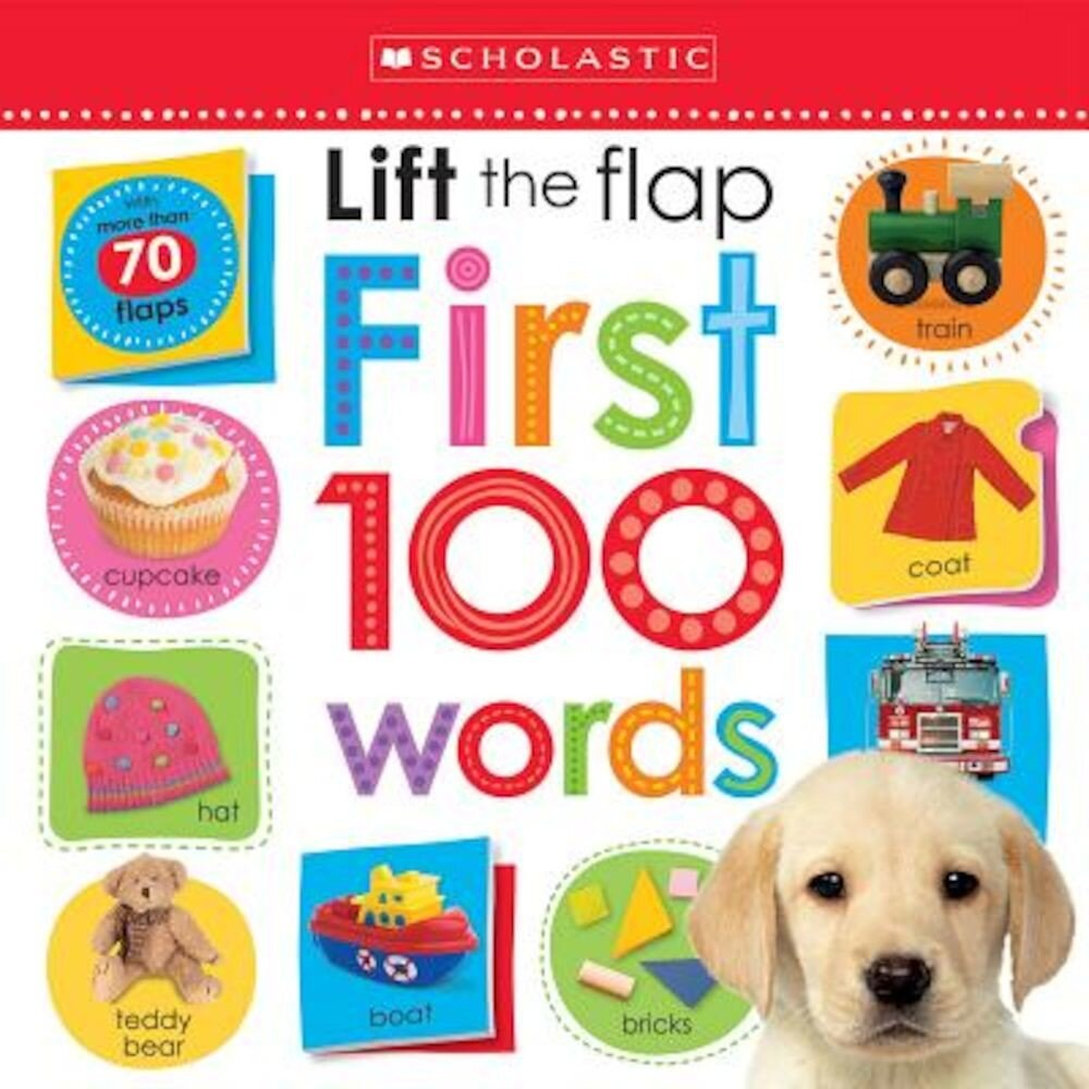 Lift the Flap: First 100 Words, Hardcover