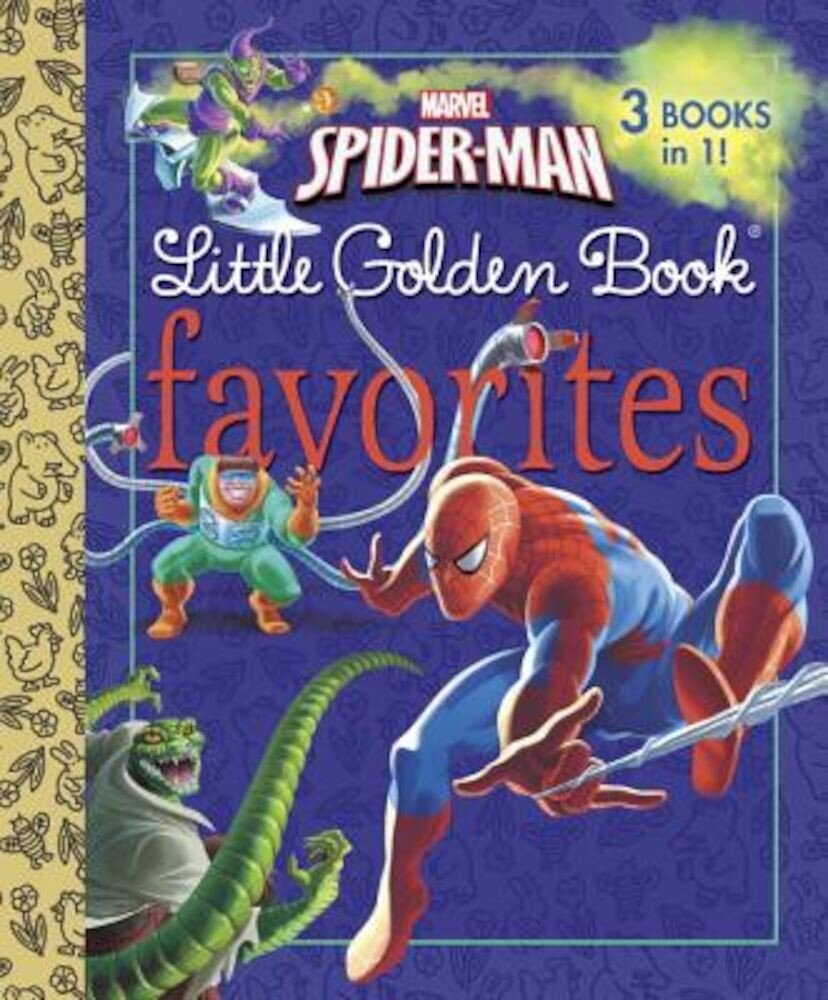 Marvel Spider-Man Little Golden Books Favorites, Hardcover