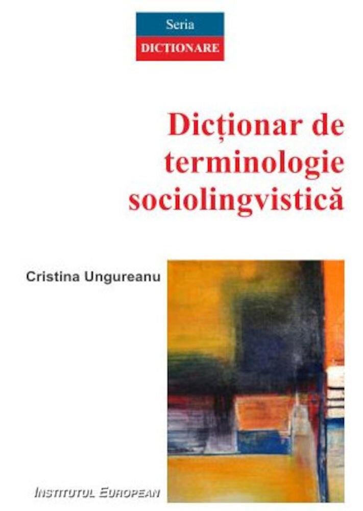 Dictionar de terminologie sociolingvistica