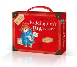 Paddington's Big Suitcase Briefcase 6 Picture Books Collection Set Michael Bond