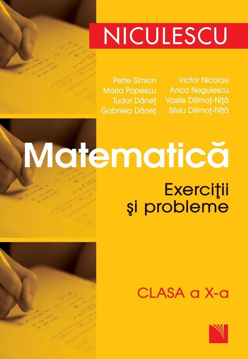 Matematica. Exercitii si probleme, clasa a X-a (eBook)
