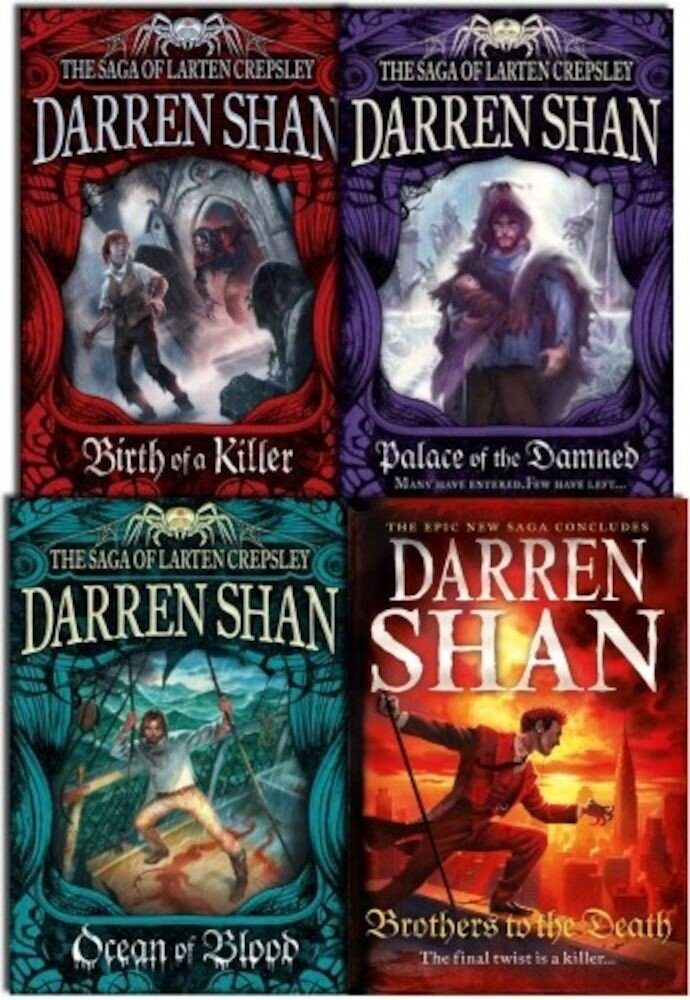 Darren Shan Series Collection The Saga of Larten Crepsley 4 Books Set