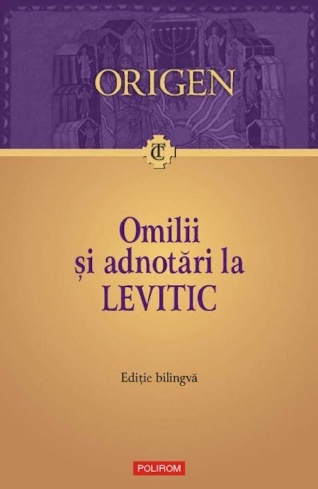 Omilii si adnotari la Levitic