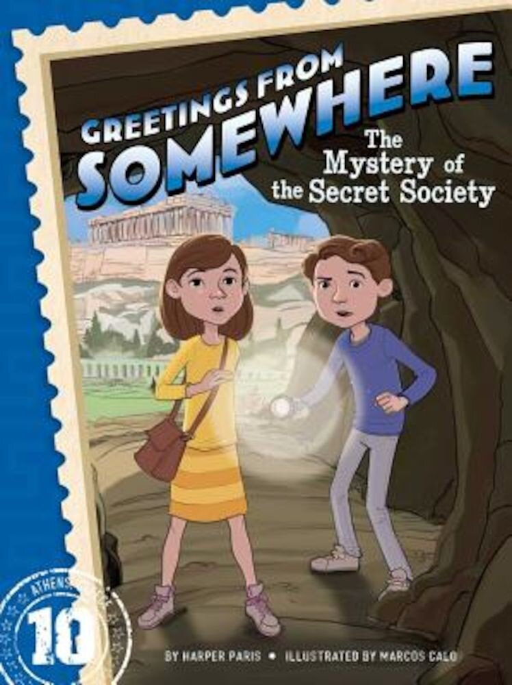 The Mystery of the Secret Society, Paperback