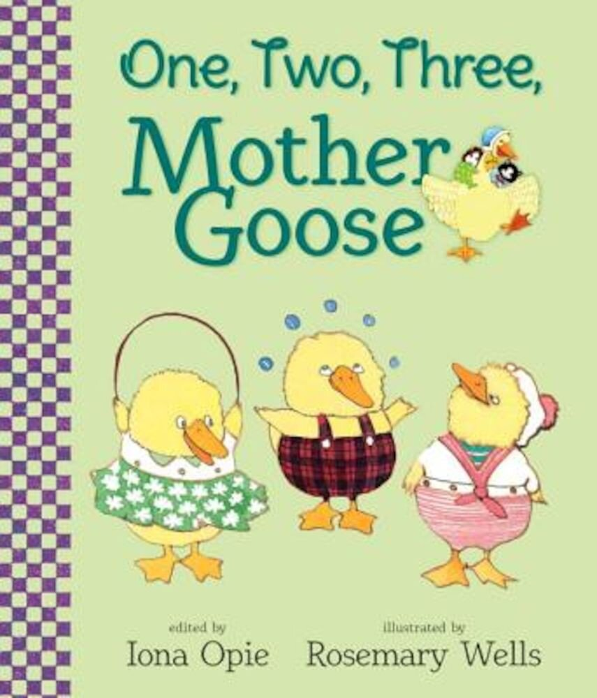 One, Two, Three, Mother Goose, Hardcover