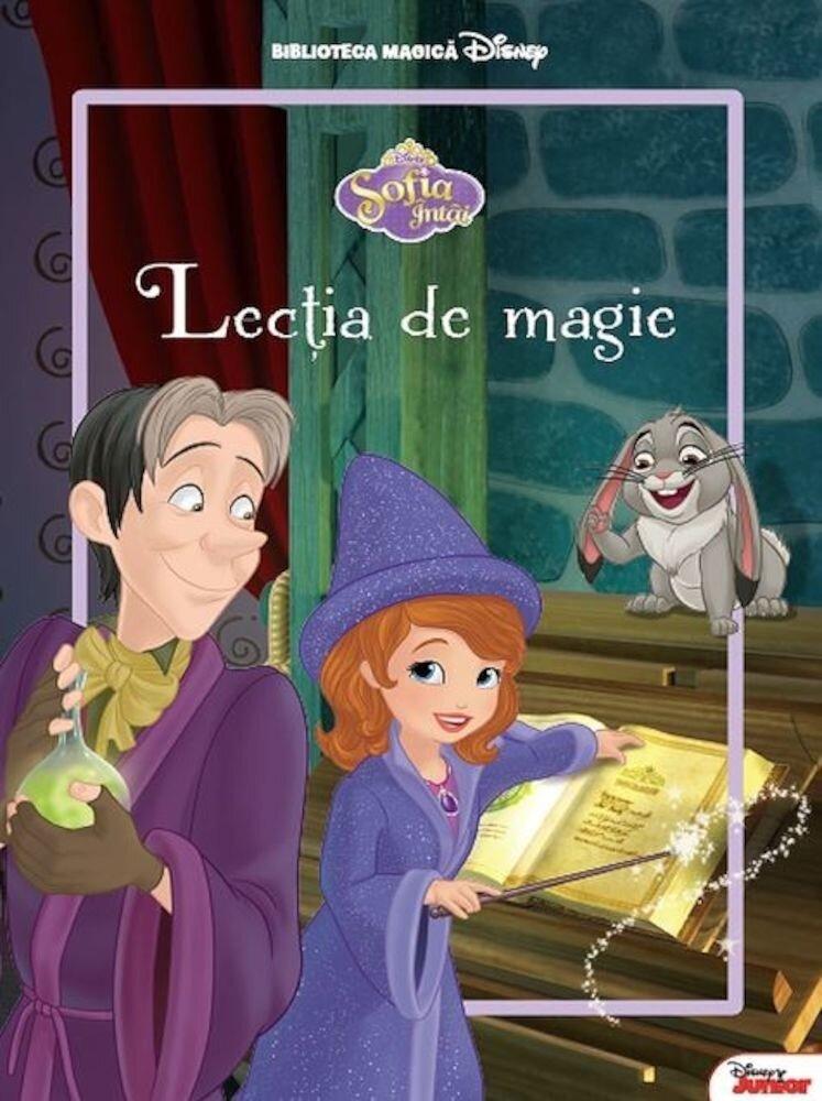 Sofia intai. Lectia de magie. Carte gigant (grupa mica)