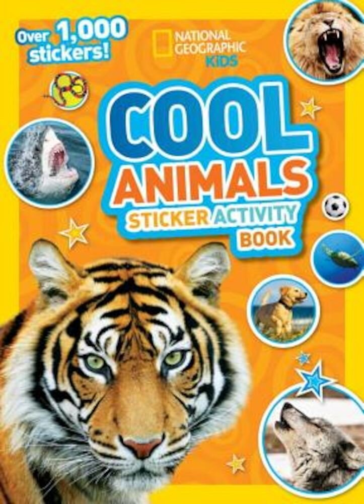 Cool Animals Sticker Activity Book [With Sticker(s)], Paperback