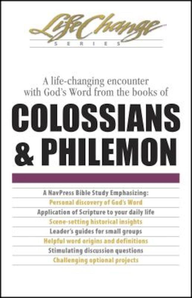 Colossians & Philemon, Paperback