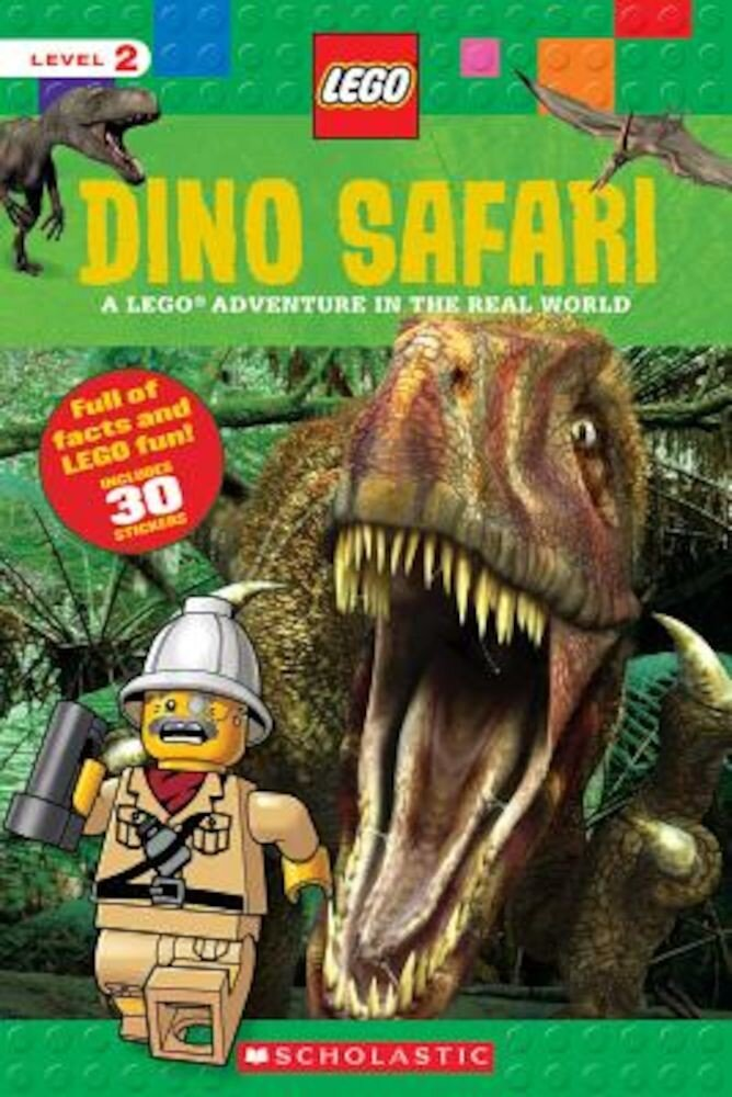 Dino Safari (Lego Nonfiction): A Lego Adventure in the Real World, Paperback