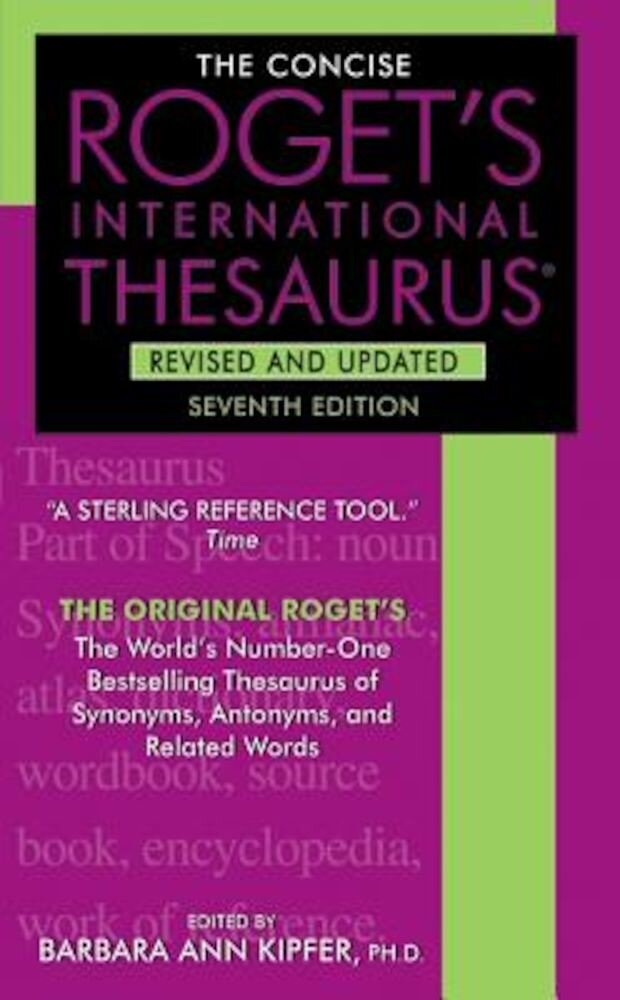 The Concise Roget's International Thesaurus, Paperback