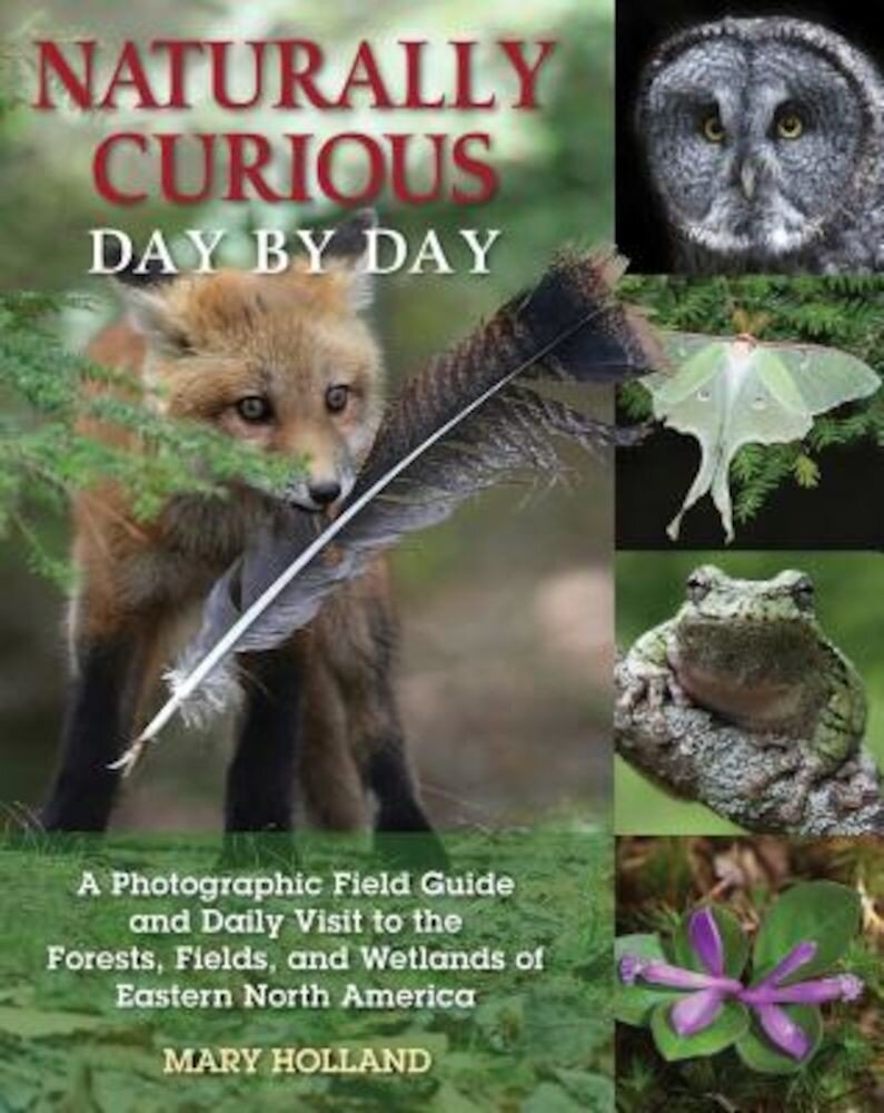 Naturally Curious Day by Day: A Photographic Field Guide and Daily Visit to the Forests, Fields, and Wetlands of Eastern North America, Paperback