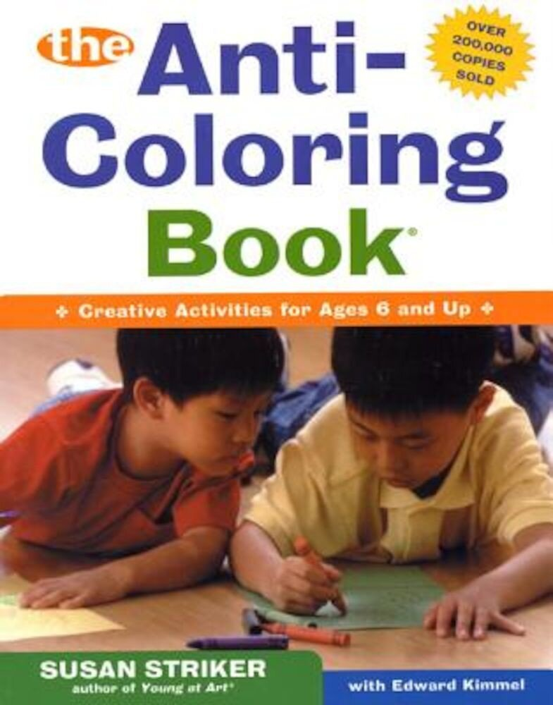 The Anti-Coloring Book, Paperback