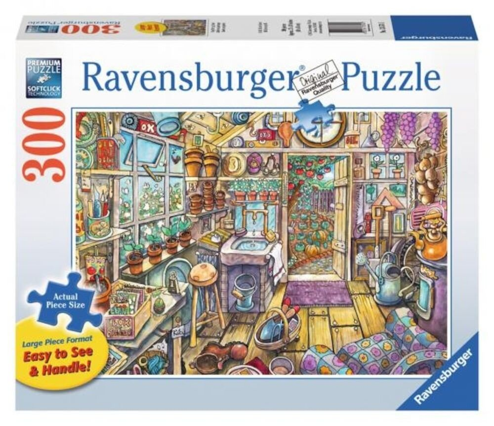 Puzzle Magazie, 300 piese