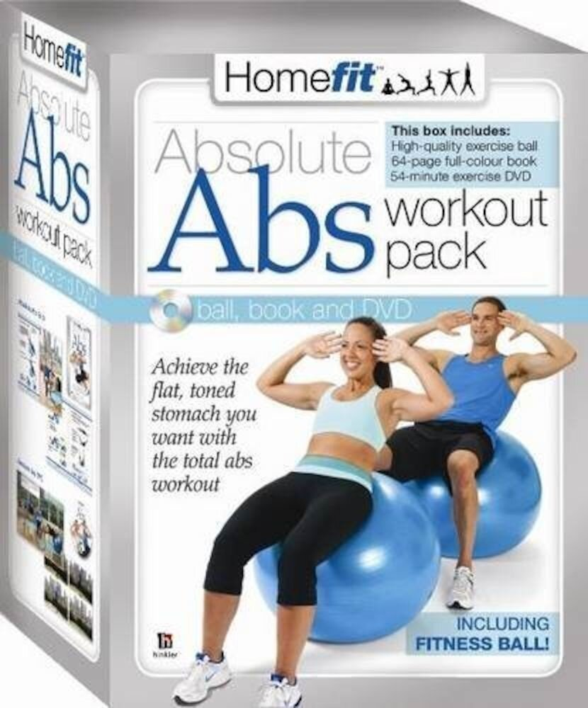 Home Fit Absolute Abs With Ball Book and DVD (PAL)