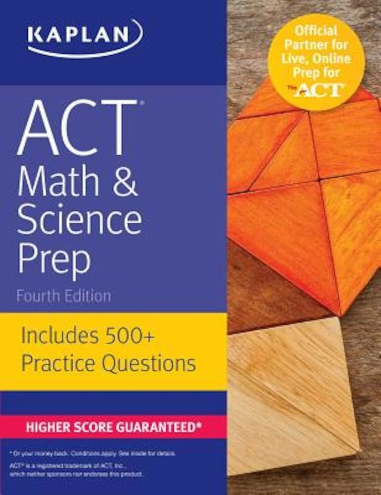 ACT Math & Science Prep: Includes 500+ Practice Questions, Paperback
