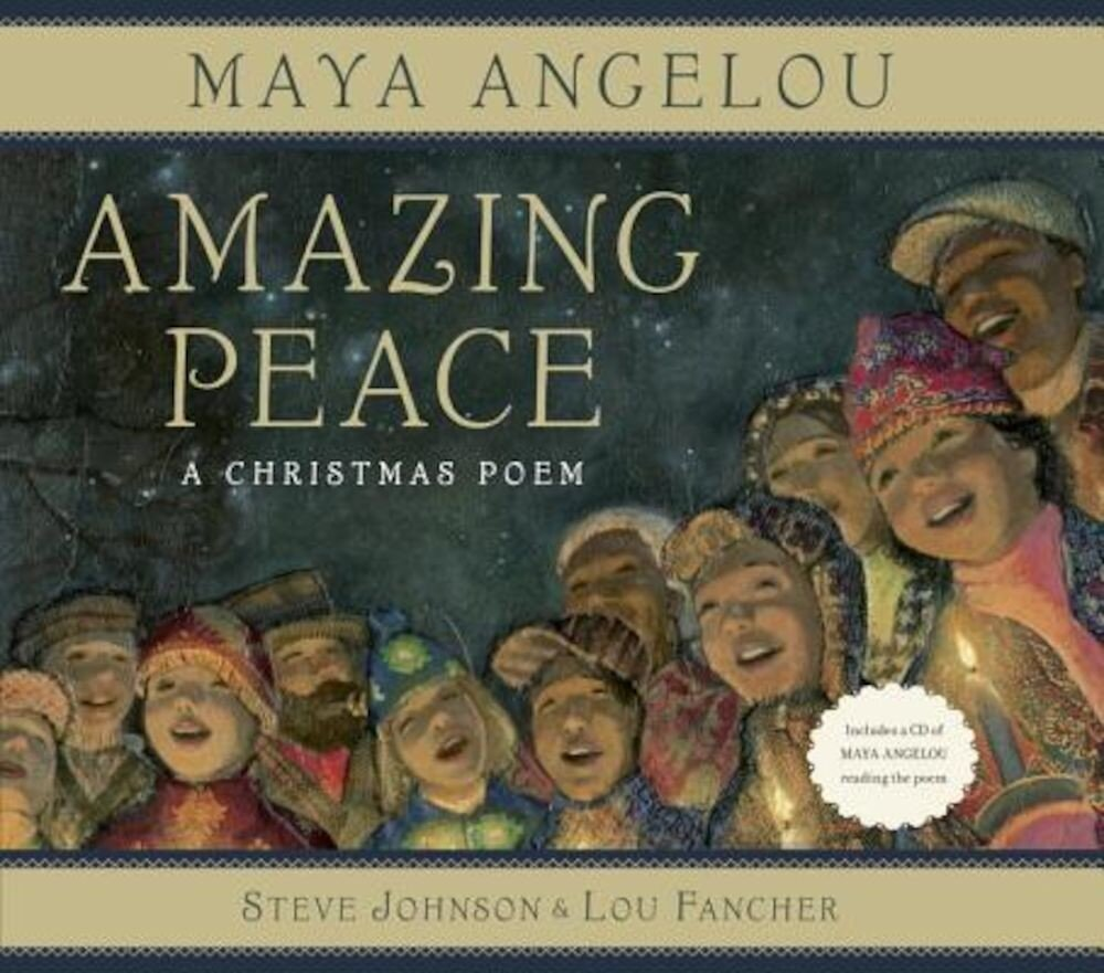 Amazing Peace: A Christmas Poem [With CD (Audio)], Hardcover