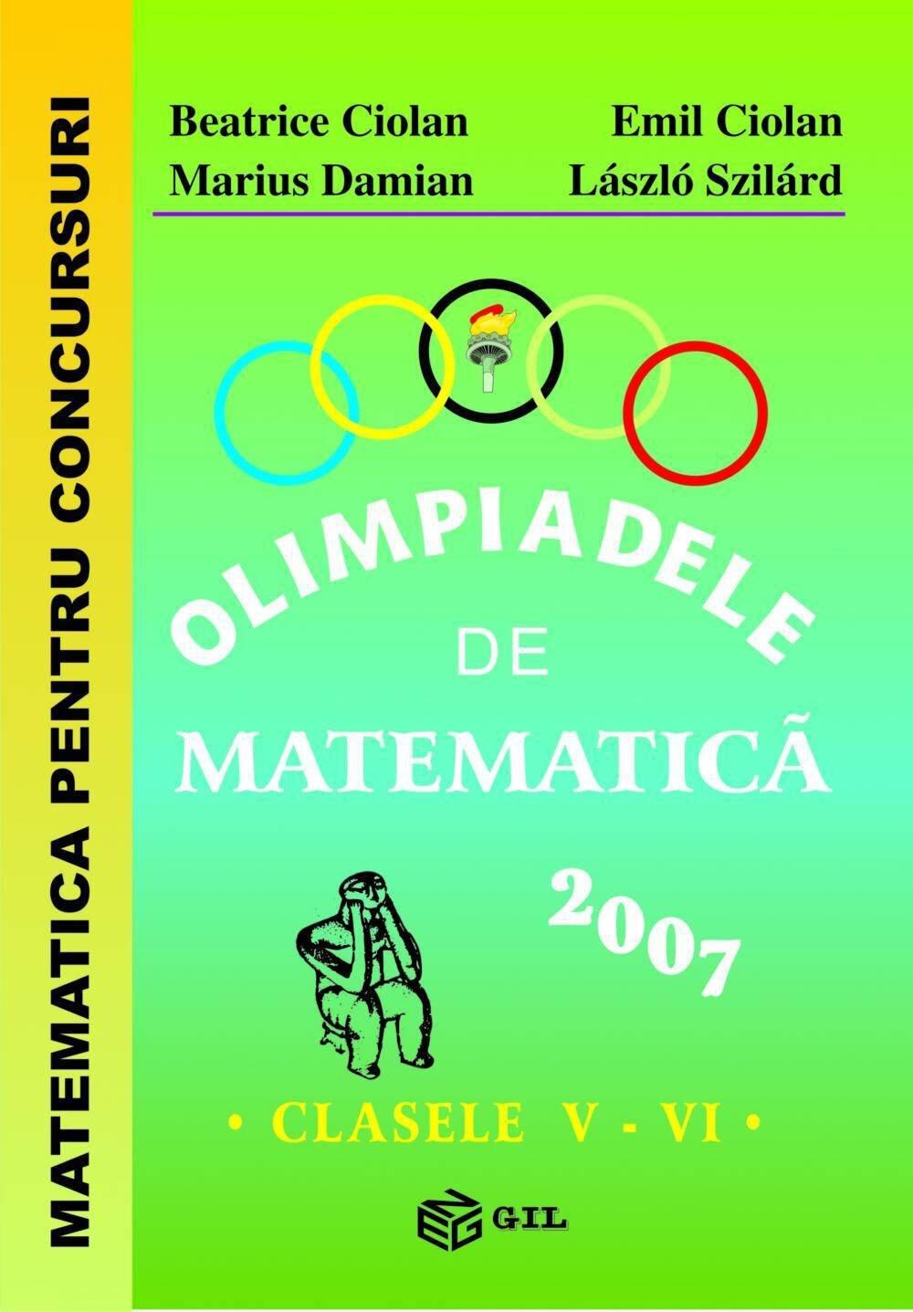 Olimpiade de matematica V-VI 2007 (eBook)