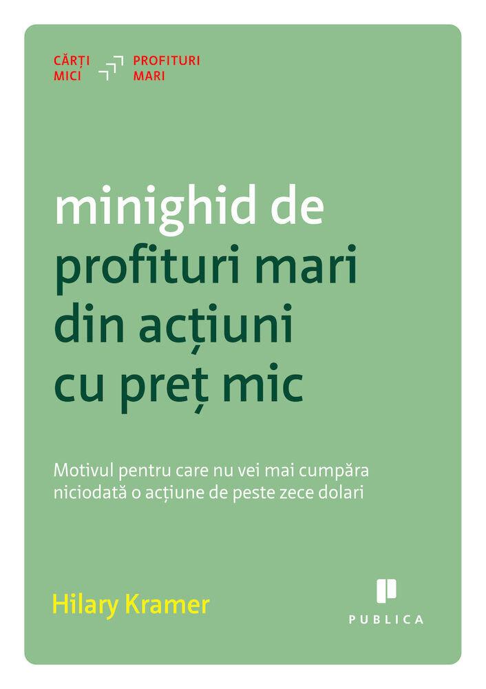 Coperta Carte Minighid de profituri mari din actiuni cu pret mic